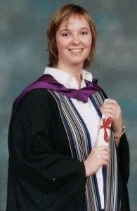 Lorraine Paterson at her graduation
