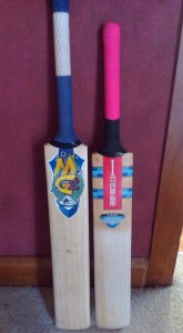 """The finished, custom-made, """"A Frame Special"""" (Left) and trusty old, standard sized, """"Pinky"""""""