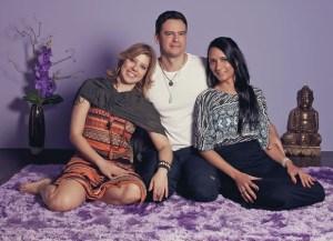 Os terapeutas Ivy Fasanella (à esq.), Alexsandro Silva e Edna Pereira. Eles sabem demover clientes que confundem terapia com sexo (Foto: Julia Rodrigues/ÉPOCA)