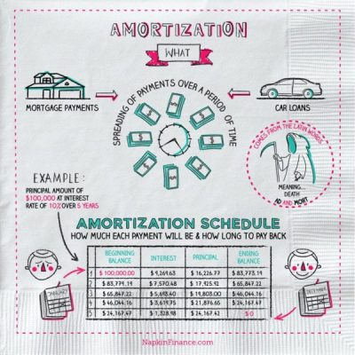 What is Amortization? Napkin Finance has the answer!
