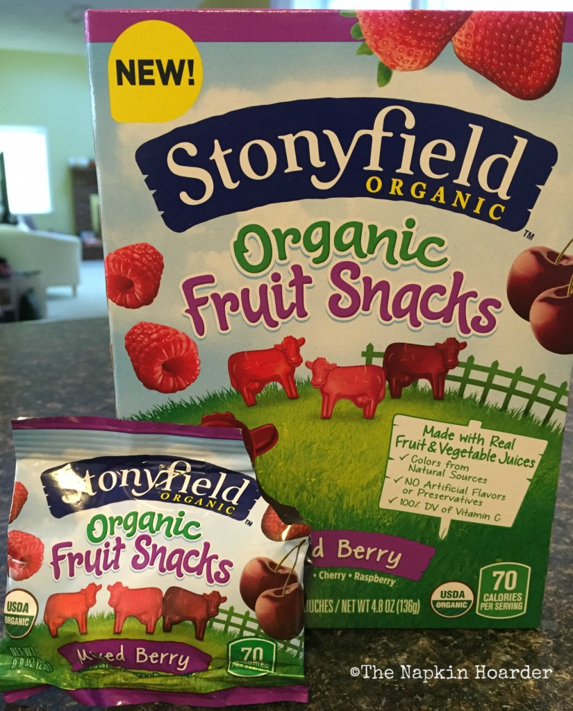 Don't Be Hangry - Have A Stonyfield Fruit Snack!