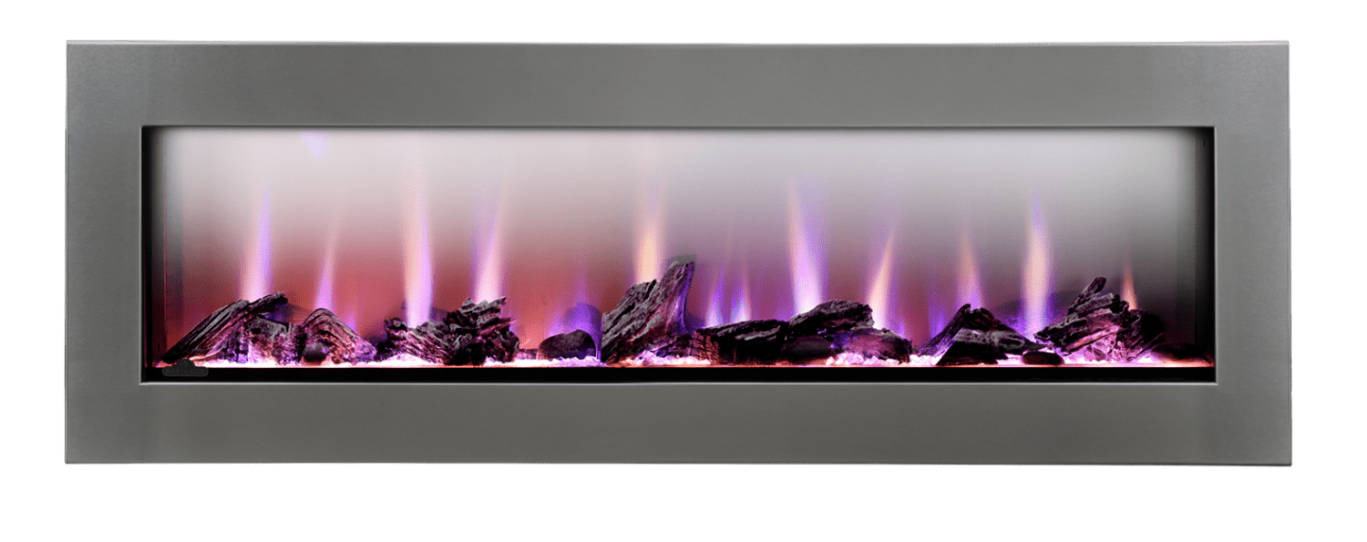 Electric Fireplace.com Clearionthe First Truly See Thru Electric Fireplace Napoleon