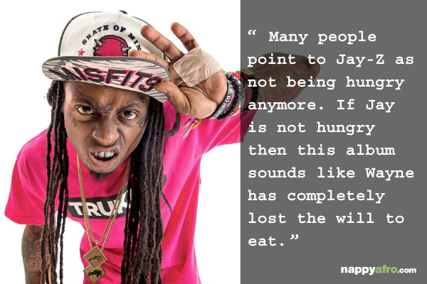 Lil' Wayne I Am Not A Human Being 2 review