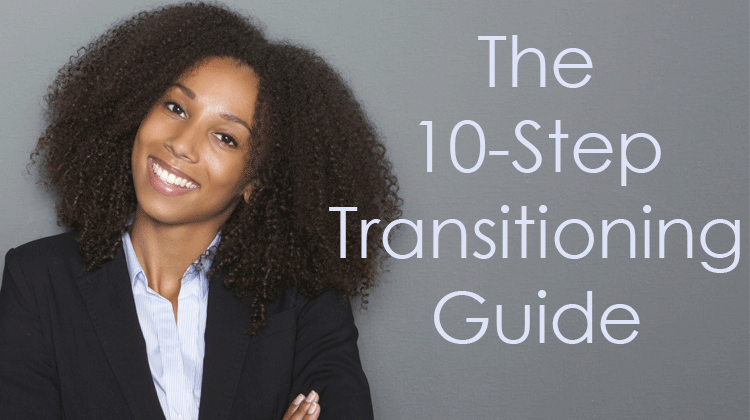 How To Long Term Transition From Relaxed To Natural Hair