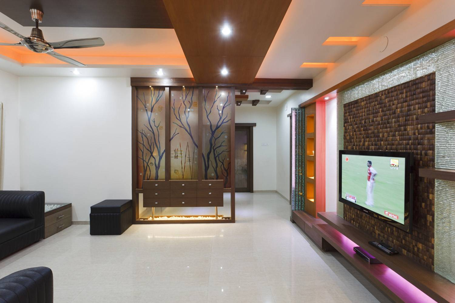 Bedroom Interior Designers Kolkata Interior Designs For Living Room Tv Room Interiors Pune