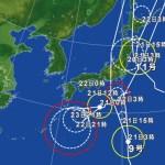 台風9号・11号の影響による飛行機の欠航・遅延(2016年8月21日)