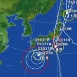 台風9号・11号の影響による飛行機の欠航・遅延(2016年8月22日)