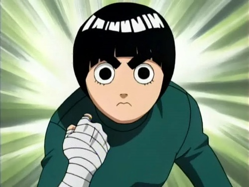 Another Anime Wallpaper Rock Lee Contacts Naruto Eyes