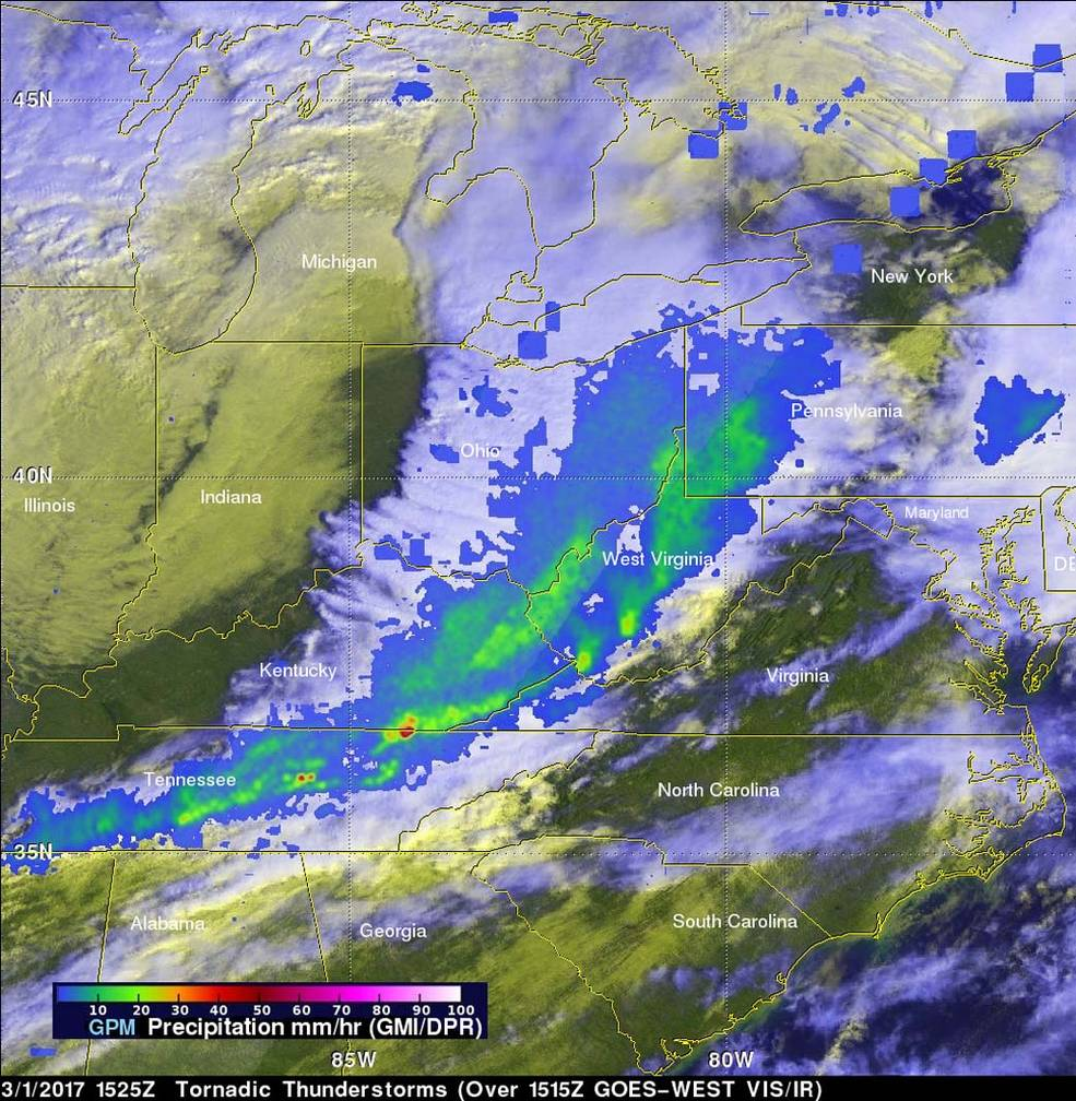 Like Weather What Nasa Examines Deadly Spring Like Weather With Gpm Satellite Nasa