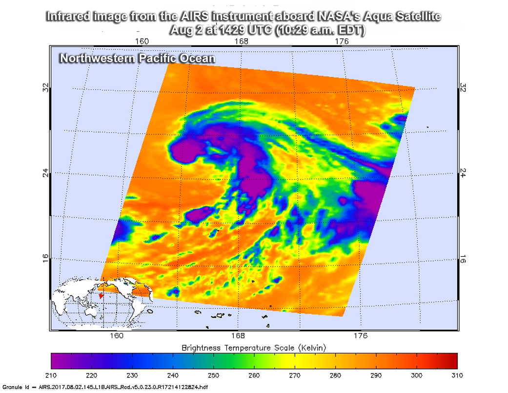Granule Lg Nasa Spots Extra Tropical Depression Nalgae Near Kuril Islands Nasa
