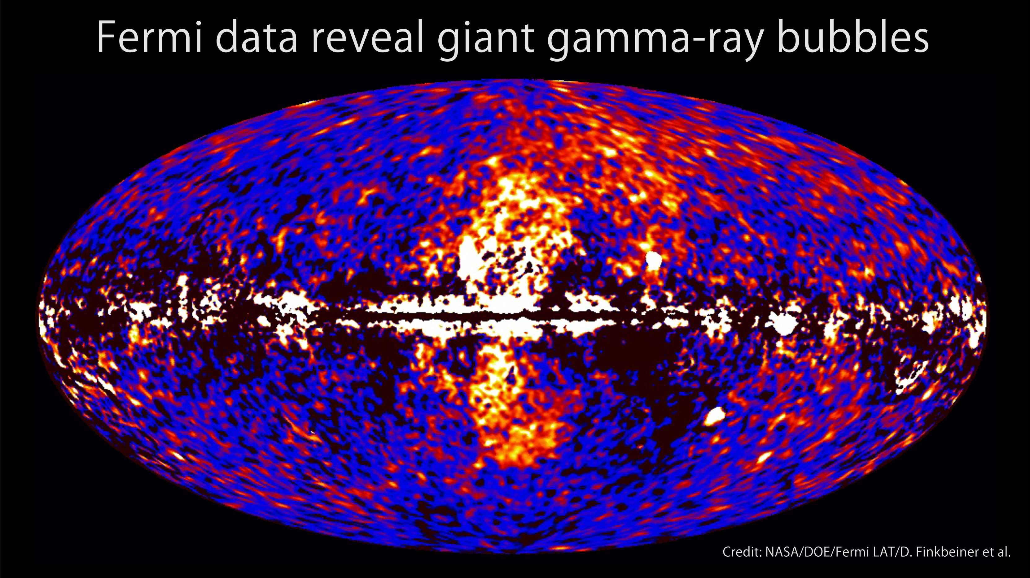 Gamma Glas Fermi Telescope Finds Giant Structure In Our Galaxy Nasa