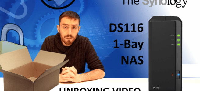 The Synology DS116 1-Bay Dual Core NAS Unboxing, Walkthrough and Talkthrough with SPANTV