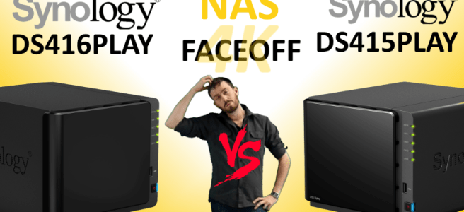 The Synology DS416PLAY versus The Synology DS415PLAY NAS - Transcoding NAS comparison
