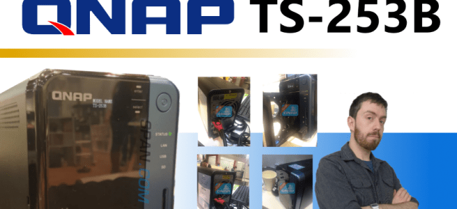 An update to the QNAP TS-253B