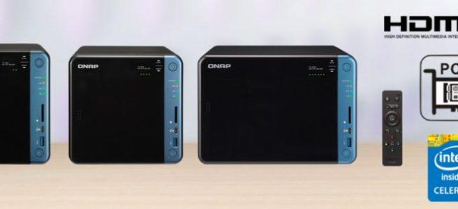 The QNAP TS-x53B Series featuring the TS-253B NAS, TS-453B NAS and TS-653B NAS