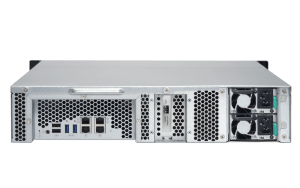 The Qnap TS-863U Rackmount 2U NAS 8-Bay featuring Quad Core AMD, 10GbE, Redundant PSU 4