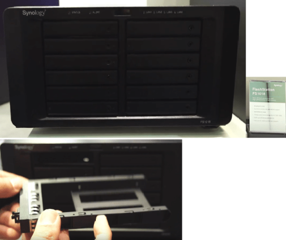 The Synology DS3018xs 6-Bay, FS1018 10-Bay Flash, DX517 5-Bay Expansion and more 3