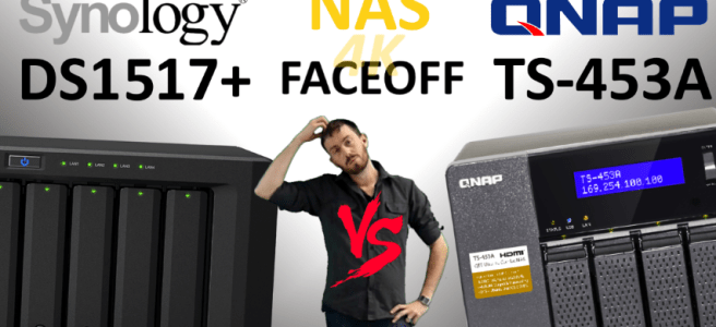 Synology DS1817+NAS versus QNAP TS-453A NAS - Old vs New, Synology V QNAP