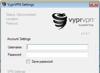 Where to log into my VPN