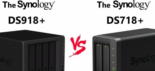 DS918+ vs DS718+