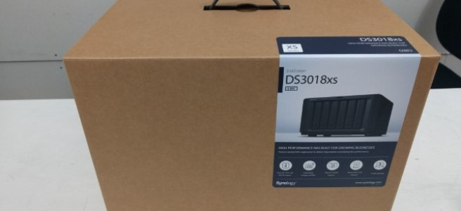 Unboxing the Synology DS3018xs 6-Bay Diskstation NAS Diskstation
