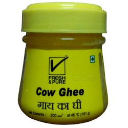 Cow_Ghee_Fresh_&_Pure_200ml_NashikGrocery.Com