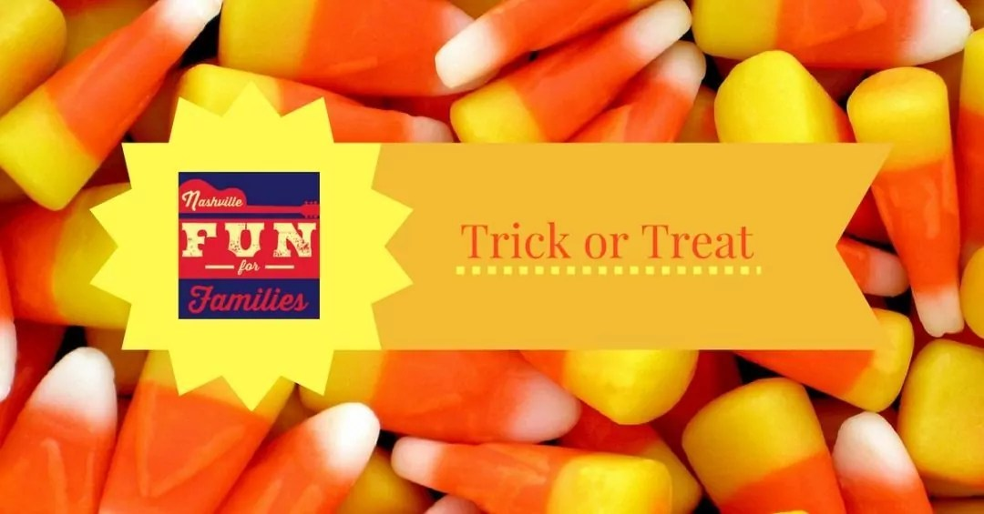 Trick or Treat Halloween Events – October 31