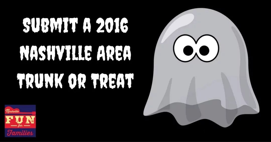 Submit a 2016 Nashville Area Trunk or Treat