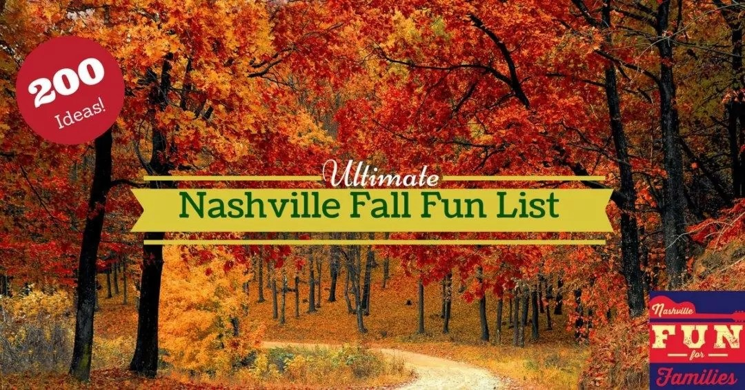 The Ultimate Nashville Fall Fun List Nashville Fun For Families