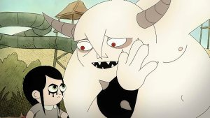 """Comedian Mary Mack voices the character Dylan in the new Fox animated series, Golan the Insatiable.  ANIMATION DOMINATION HIGH-DEF: While supposedly babysitting Dylan, left, Golan becomes distracted by his new friends in the special preview episode of GOLAN THE INSATIABLE, """"Ragin' Fun,"""" airing Saturday, Nov. 23 (11:00 PM-Midnight ET/PT) on FOX."""