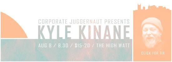 Kyle Kinane at The High Watt - August 8, 2014