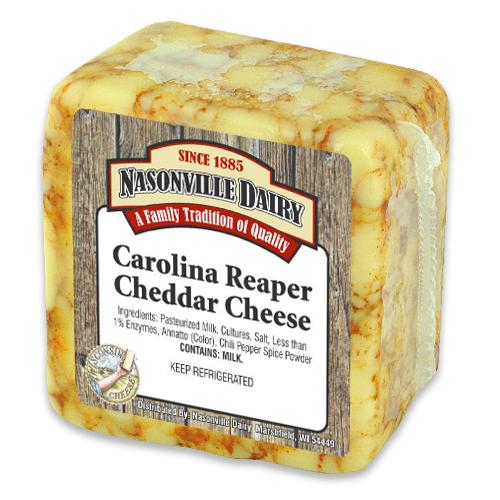 Carolina Reaper Cheddar Nasonville Dairy - Part 1