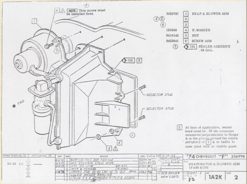1973 camaro air conditioning wiring diagram