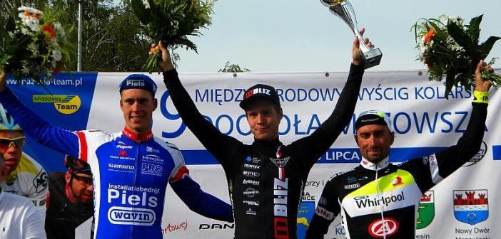 Matti Manninen wygrywa drugi etap Wyścigu Dookoła Mazowsza. Alan Banaszek piąty.
