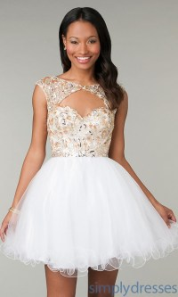 Baby doll prom dresses
