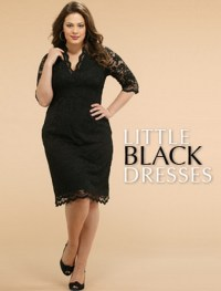 Little black dresses plus size
