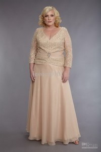 Mother of the groom plus size dresses