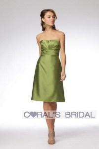 Olive Color Bridesmaid Dresses - Junoir Bridesmaid Dresses