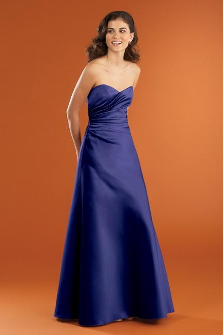 Sapphire Blue Bridesmaid Dress