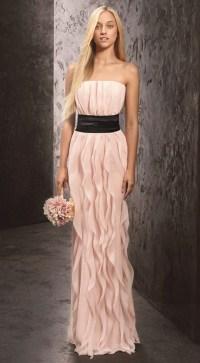 Vera wang bridesmaid
