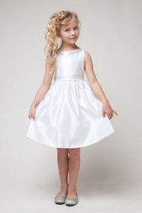 White dress for girl