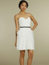 White dresses casual