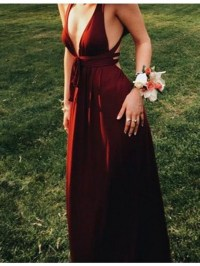 Maroon homecoming dresses 2018