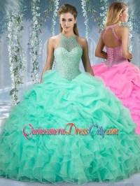 Mint green quinceanera dresses 2018