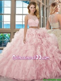 Two piece quinceanera dresses 2018