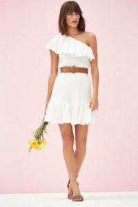 All white summer dresses