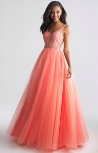 Melon color 15 dresses