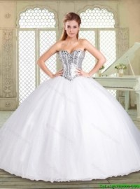 Quinceanera dresses white
