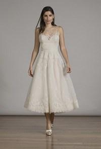 T length wedding dresses