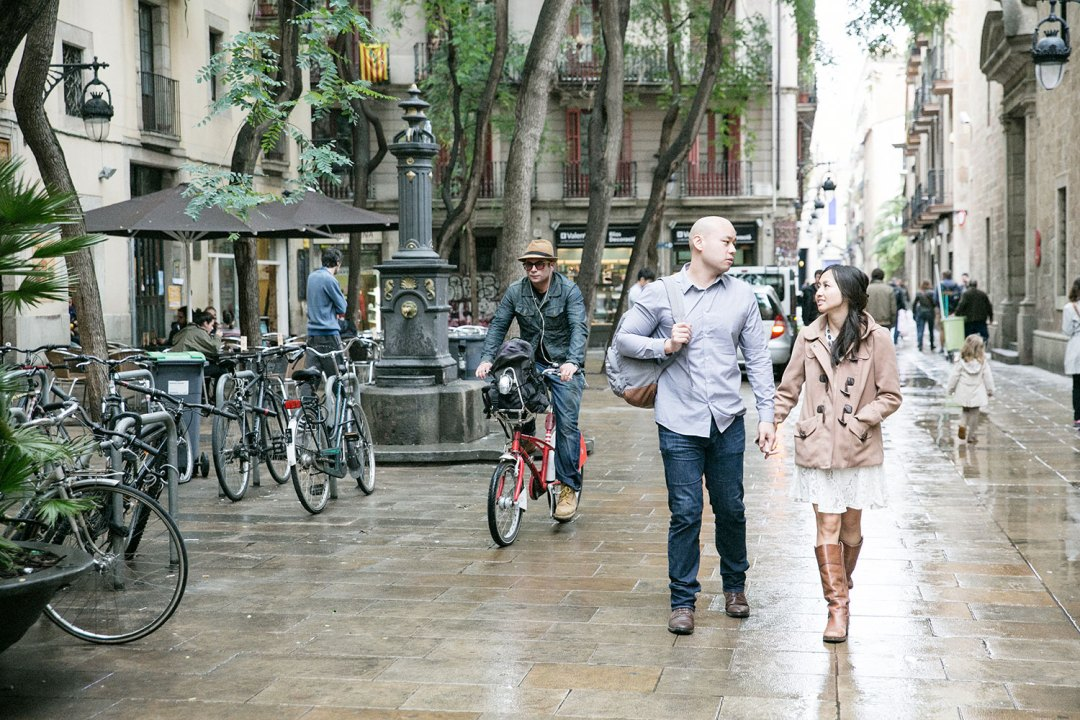 Barcelona engagement session